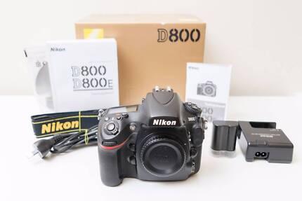 Nikon D800 36MP DSLR Came with 50mm F1.4 D Lens