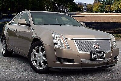2012-2013 Cadillac CTS 2pc Fine Mesh Grille Stainless - E&G 1007-0102-12MS