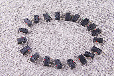 20x Kw11-1z-0101 Micro Limit Switchs Momentary Lever Actuator Miniature
