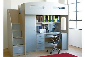 Bunk bed with desk and storage Fisher Weston Creek Preview
