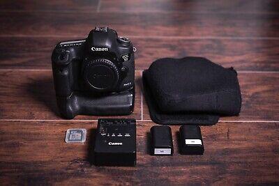 Canon EOS 5D Mark III 22.3MP Digital SLR Camera w/ Extras