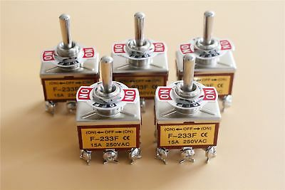 20x Heavy Duty15a 250v Dpdt 6 Pin On-off-on Momentary Toggle Switch