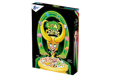 Marvel Loki Charms Exclusive Lucky Charms Collab Limited Edition IN HAND