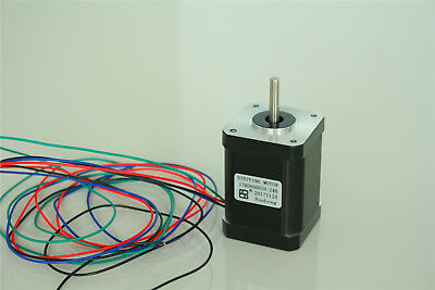 Nema 17 2.1a Stepper Motor High Torque 92oz.in For Cnc 3d Printer 42x42x60mm