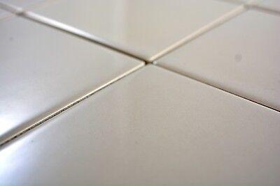 Mosaik Fliese Keramik schlamm quadratisch uni schlamm matt WB23-2411|1 Matte