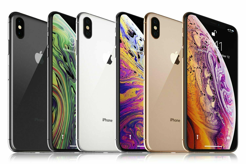 1 von 2 : Apple iPhone XS Max 64GB 256GB 512GB | Unlocked Verizon AT&T T-Mobile Sprint • 325,53 €