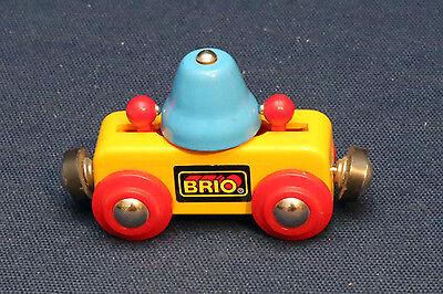 Brio 33227 Glocken Waggon Wagen - wie neu - rar - TOP - Chiming-Bell Wagon VHTF