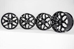 Black GMC Denali Wheels Rims 22