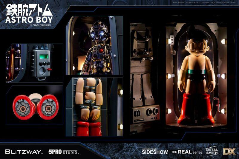 Blitzway Super Scale Statue/ Astro Boy Atom Statue Deluxe Ver Bw-Ns-50101