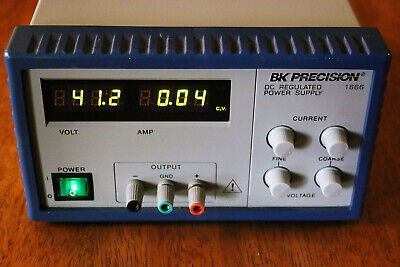 Bk Precision 1666 1-40v 5a Switching Adjustable Dc Power Supply Tested Working