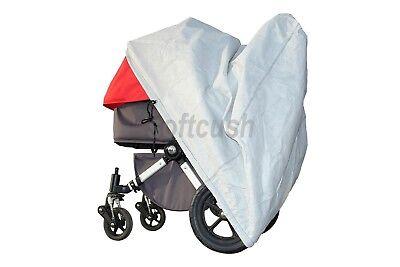 softcush Abdeckung f. Kinderwagen Safety 1st Ideal Sportive Regenschutz
