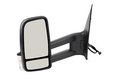 Mercedes SPRINTER (906) 05/09- Außenspiegel Spiegel links schw.elekt. langer Arm