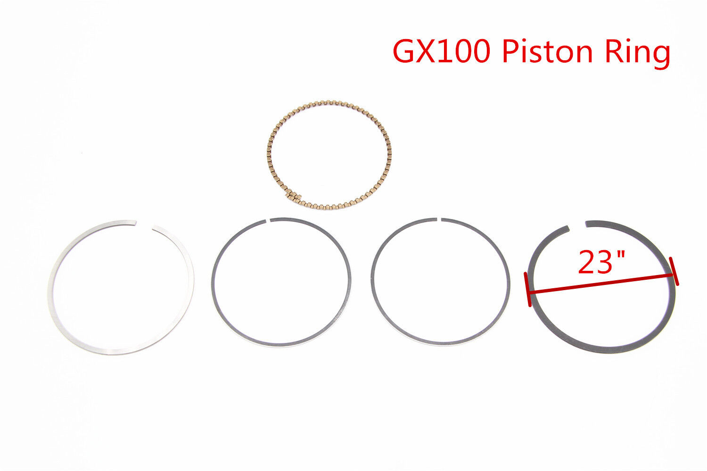 Piston Ring Set 13010-Z0D-003 For Honda GX100 GX100RT