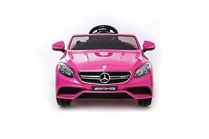 12v Licensed Mercedes Benz S63 AMG Kids Electric Ride On Car Revesby Bankstown Area Preview