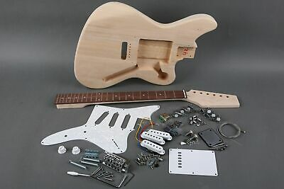 NEW SOLID 6 STRING JAZZMASTER STYLE ELECTRIC GUITAR BUILDER DIY -