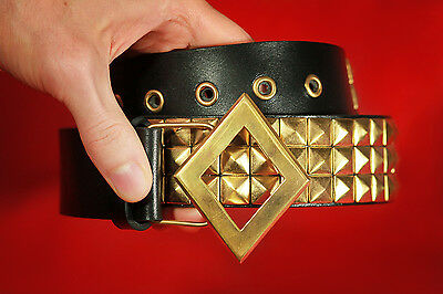 Original Harley Quinn Diamond Buckle Belt Leather Cosplay Suicide Squard Costume (Original Harley Quinn Costume)