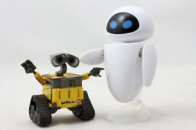 Original Fsat Ship Eve Eva Wall-E Robot Wall E PVC Action Figure Collection