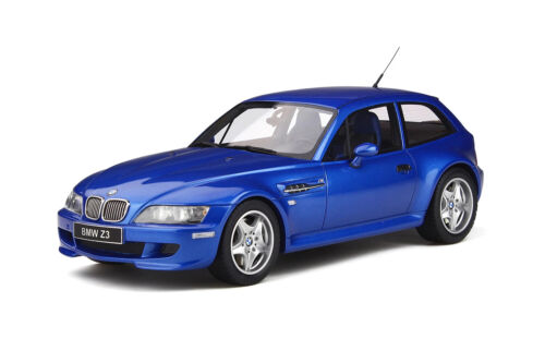 BMW Z3 M COUPE 3.2 ESTORIL BLUE METALLIC LTD ED 1/18 CAR BY OTTO MOBILE OT318