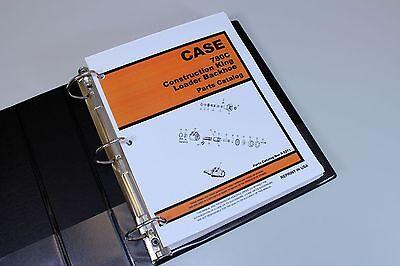 Case 780c Construction King Loader Backhoe Parts Manual Catalog Exploded View Ck
