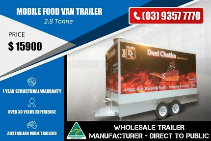 2.8 Tonne Mobile Food Van Trailer Epping Whittlesea Area Preview