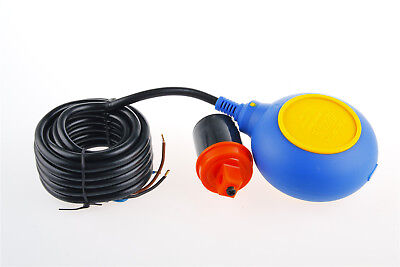 Sump Tank Controller Float Switch Fluid Water Level Sensor 4m Cable