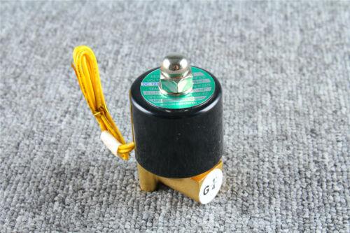 2W-025-08 Electric Solenoid Valve Diesel Gas Water Air N/C 1/4 inch DC12V