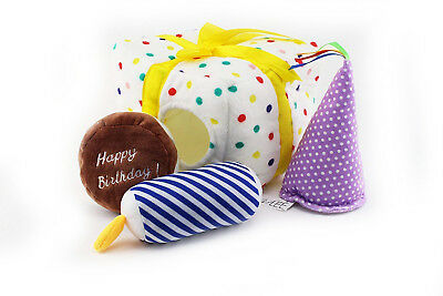Midlee Birthday Present Find a Toy Dog Toy - Find A Birthday