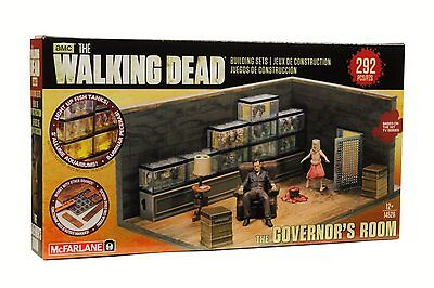 Mcfarlane Toys Building Sets  The Walking Dead Tv The Governors Room