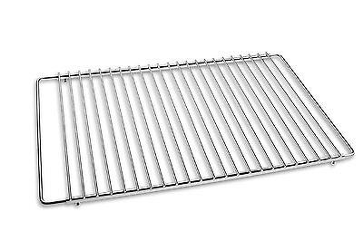Edelstahl Grillrost Verstellbar 50-70x37cm, Grillrost Rostfrei