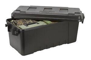 Plano 1719 Hard Plastic Storage Box, Trunk, Tool Military Army Kit Locker