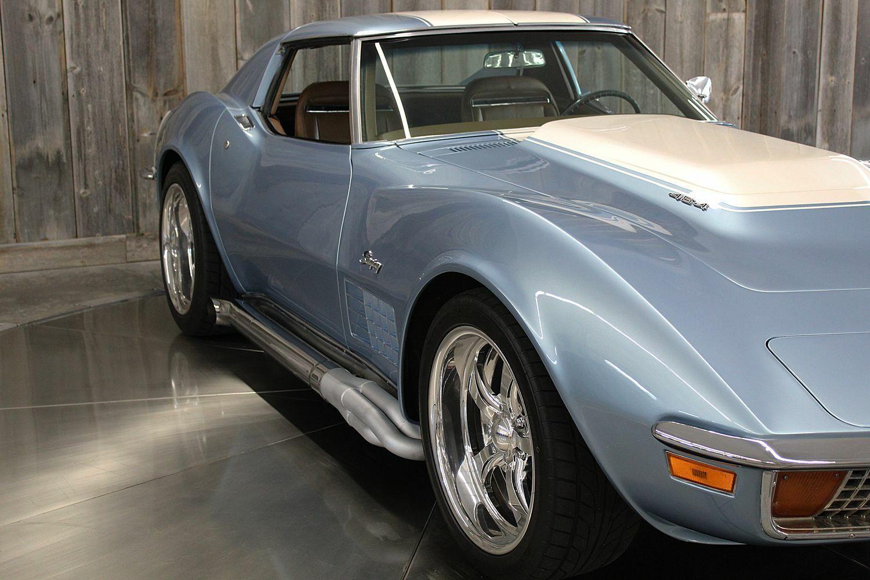 1972 Blkue Chevrolet Corvette     C3 Corvette Photo 10