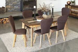 7 Pce Timber Dining Setting – Brand New