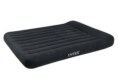 "Airbed 12"" H X 60"" W X 80"" D Blue, Navy"