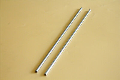 2pcs Rod Cylinder Optical Axis Bearing Steel Od 6mm300mm Cnc Linear Rail Shaft