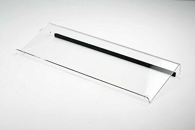 Computer Keyboard Stand Rubber Strip Clear Acrylic Universal Elevated Stand