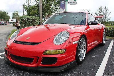 2005 Porsche 911 2 Door Coupe 2005 Porsche 911 997 Carrera Coupe   6 Spd Manual   Clean Fl Vehicle   Gt3 Look