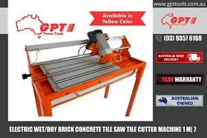 ELECTRIC BRICK CONCRETE SAW - 230 VOLTAGE