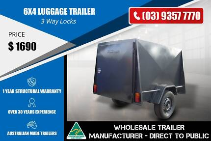 6x4 Luggage Trailer - GVM 750kg Epping Whittlesea Area Preview