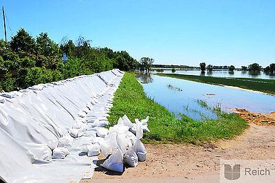 10 Flood Protector sandbag flood Sack 12,5 kg Capacity 40 x 60cm pp-bänd