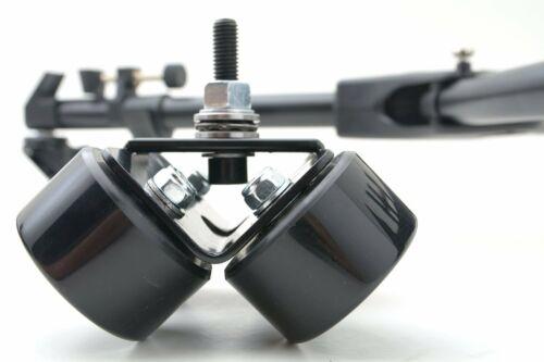 Glide Gear GW 100 Video Camera Tripod Dolly Track 360 Swivel Wheel Assembly