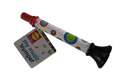 Wood Trumpet Toy for Toddlers & Kids, Horn Hooter Musical Toy by ALEX TOY
