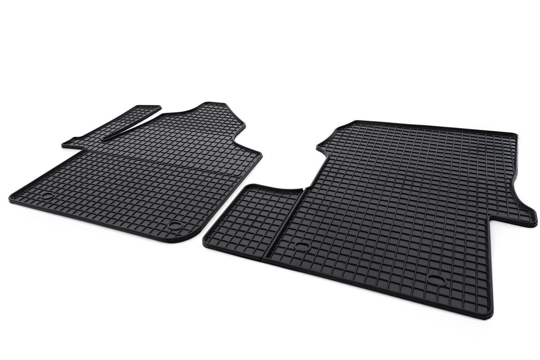 Gummimatten für VW UP ab 2011 3D Gummi-Fußmatten Hohe Qualität Hoher Rand
