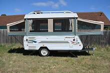 Fully stocked 2003 Jayco Dove with full annex Melton South Melton Area Preview