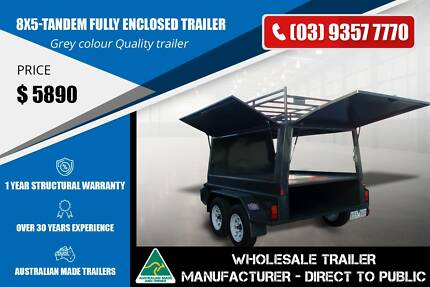 Fully Enclosed Trailer - 8x5 - GVM 2000kg Epping Whittlesea Area Preview