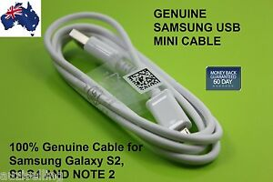 ORIGINAL-GENUINE-Samsung-USB-MINI-Charging-Data-Cable-For-Galaxy-S4-S3-S2-Note2