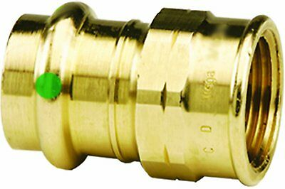 Viega 77917 Propress Bronze Adapter With Female 1-inch By 1-inch P X Female Npt