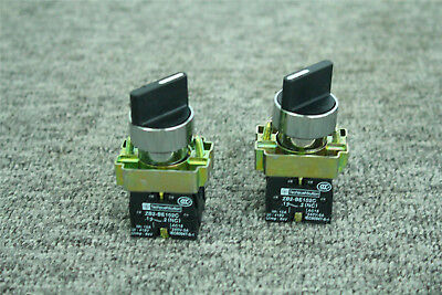 2x On-off 2-position Xb2-bd25c 1no1nc Latching Rotary Selector Switch