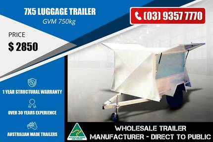 7x5 Luggage Trailer - GVM 750kg Epping Whittlesea Area Preview