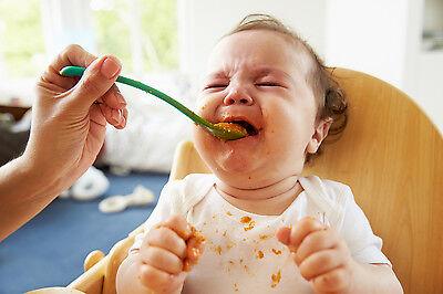 Auch beim Essen musst Du Abstriche machen: Die kulinarischen Genüsse Deines Sprösslings haben Vorrang.