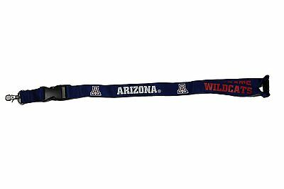 Arizona Wildcats Lanyard Keychain with Lobster Claw Hook Key Ring Arizona Wildcats Wildcat Ring